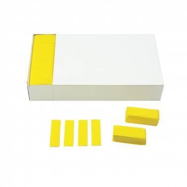 Confettis rectangulaires papier (Brick 1 kg.)