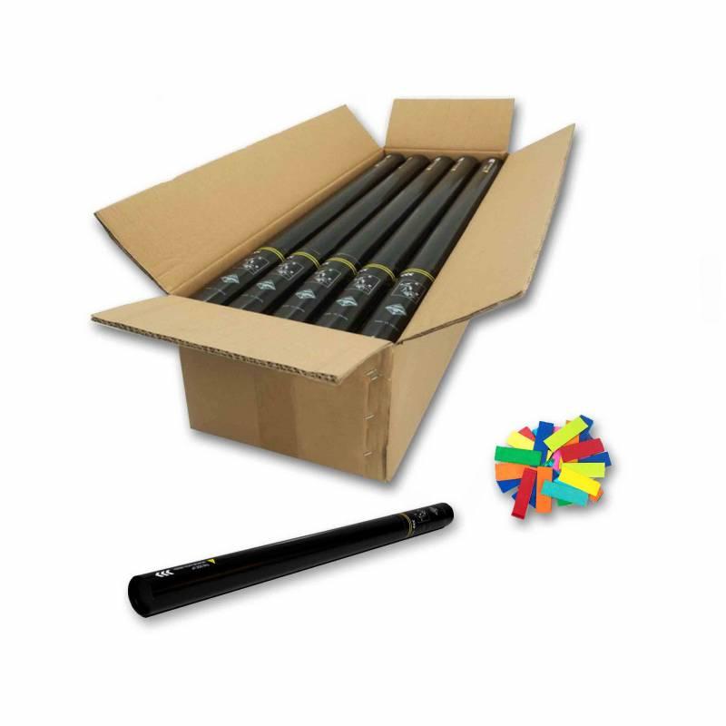 20 Manual cannons 80 cm. (Confetti)