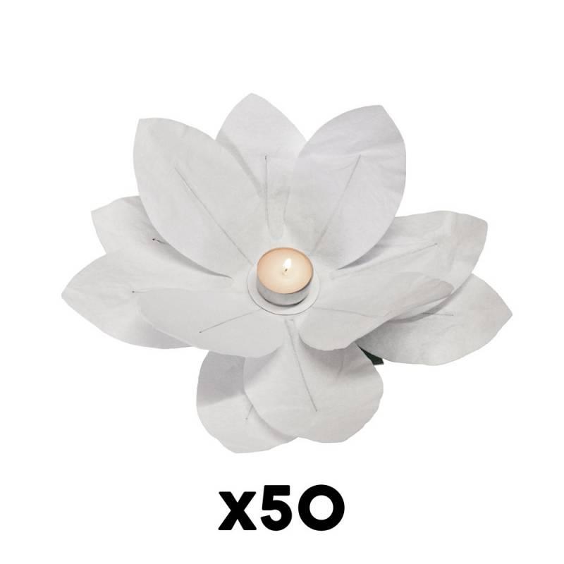 Paper Flower Candle (50 pcs.)
