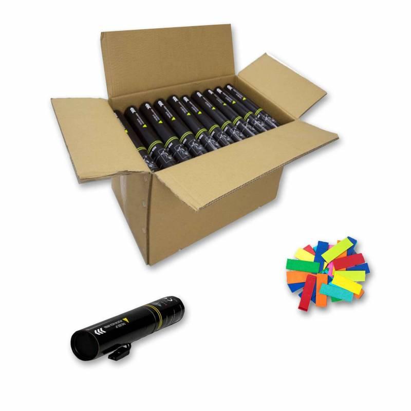 20 Canons électriques 30 cm (Confettis)