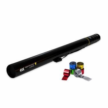 Cannone elettrico 80 cm. (Stelle filanti metallizzato)