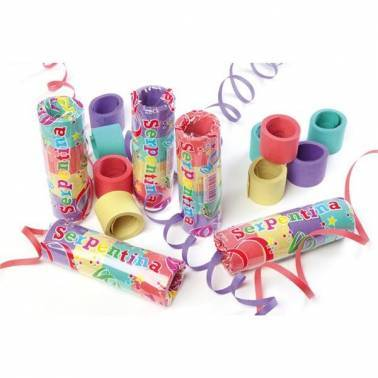 Paper streamers 3 m. (20 rolls)