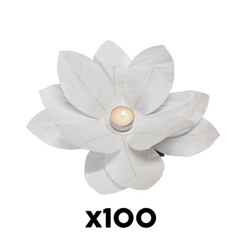 Vela Flor Papel (100 u.)