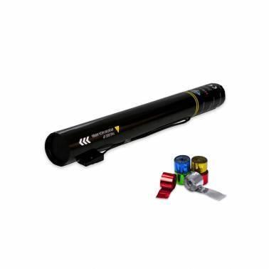 Cannone elettrico 50 cm. (Stelle filanti metallizzato)