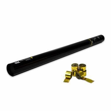 Cannone manuale 80 cm. (Stelle filanti metallizzato)