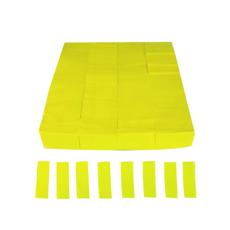 Confettis rectangulaire FLUOR (Sac 1 kg.)