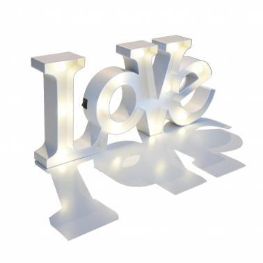 LOVE Light letters
