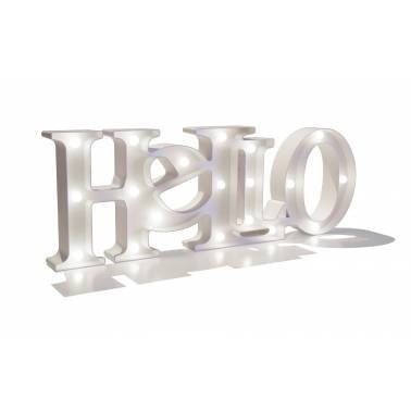 Letras luminosas HELLO