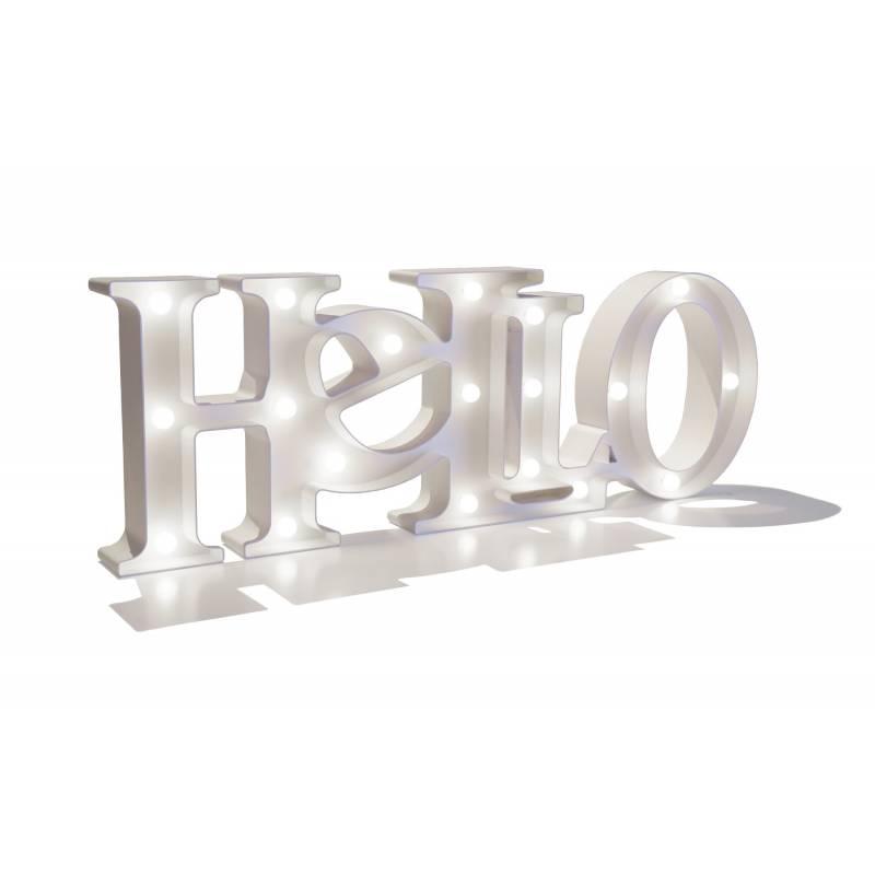 Lettere luminose HELLO