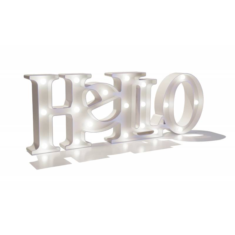 HELLO Light letters