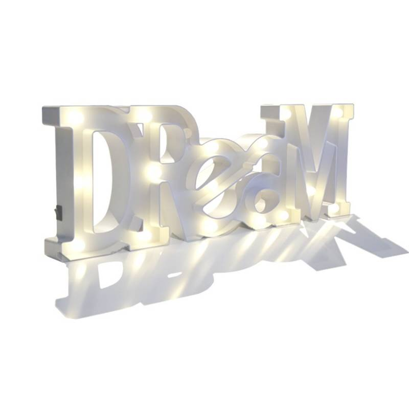 DREAM Light letters