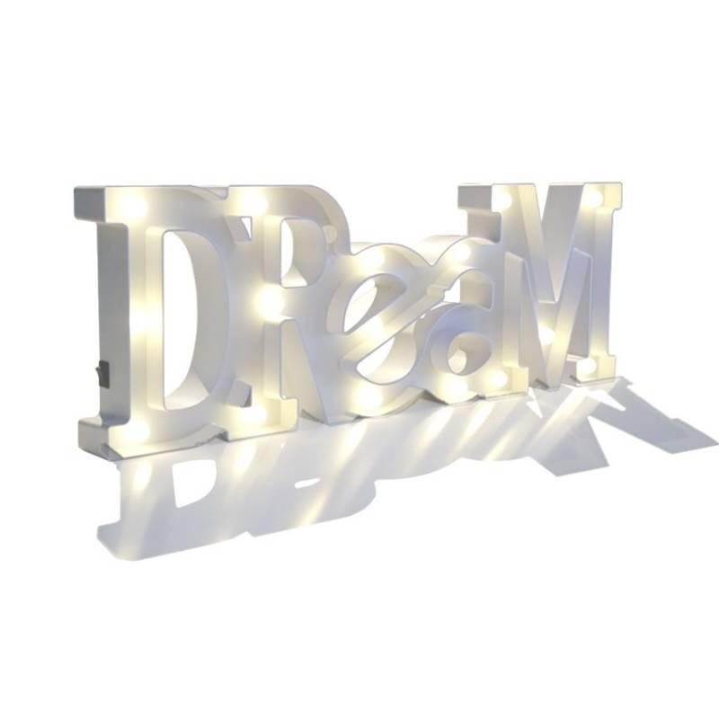 Letras luminosas DREAM