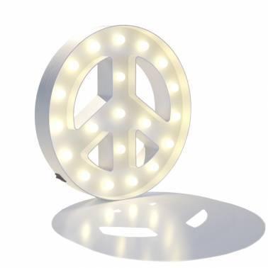 Símbolo luminoso PAZ