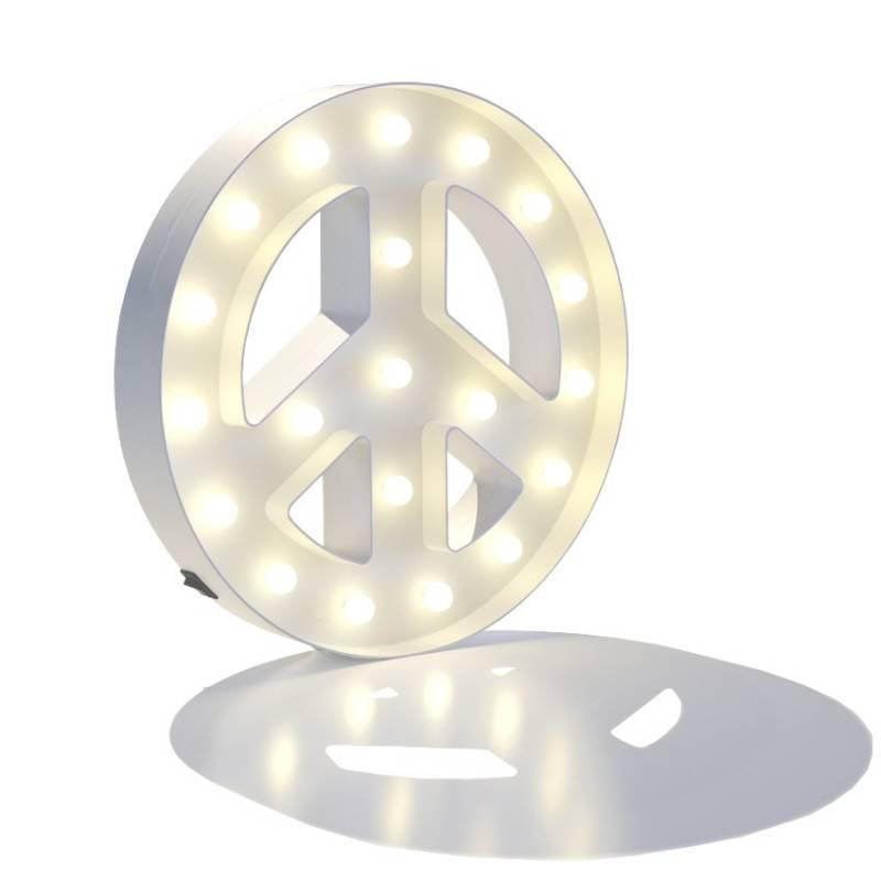 PEACE light symbol