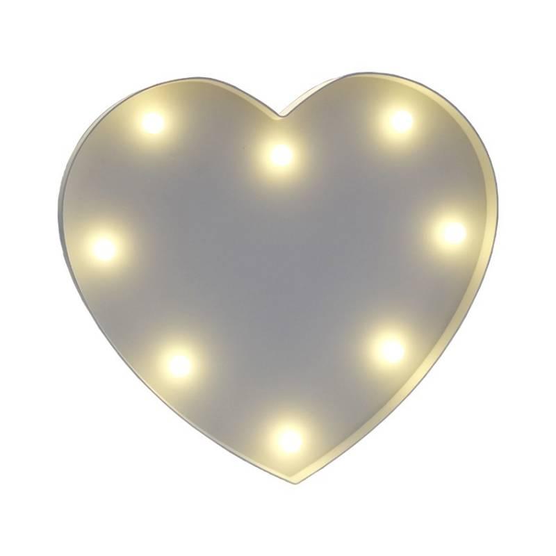 Símbolo luminoso Coração