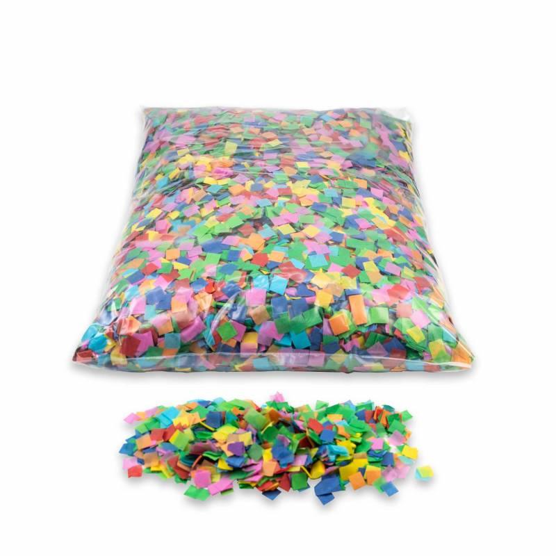 Confete quadrado papel (1 kg.)