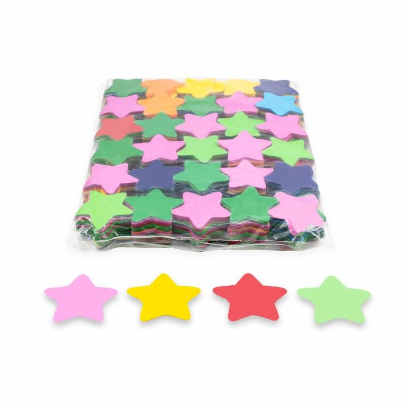 Confete estrelas papel (1 kg.)
