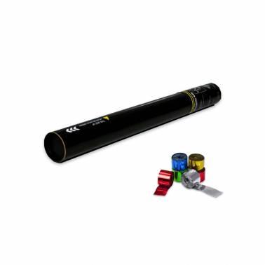 Cannone manuale 50 cm. (Stelle filanti metallizzato)