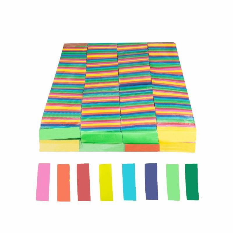 Confeti rectangular papel (1 kg.)