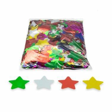 Metallic Stars confetti (1 kg.)
