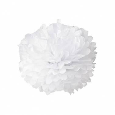 Pompón papel 30 cm (10 u.)