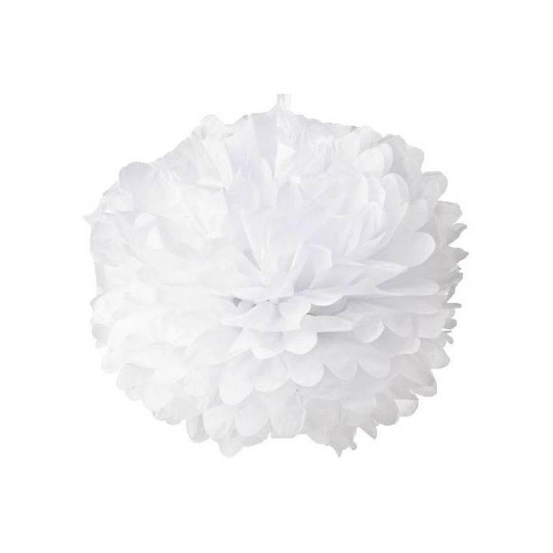 Pompon papel 50 cm. (10 u.)