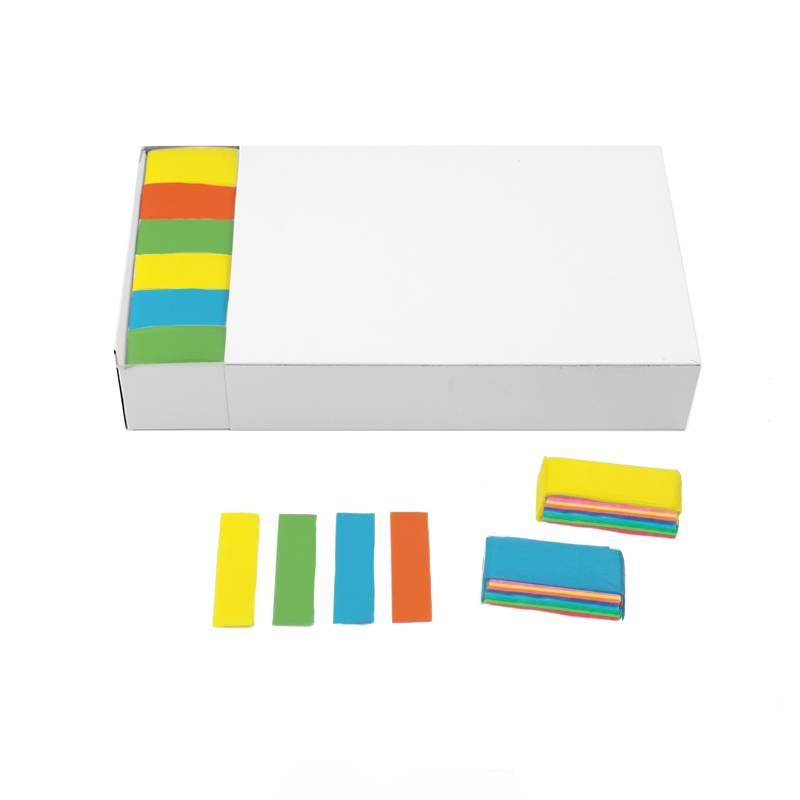Confete retangular papel (Brick 1 kg.)