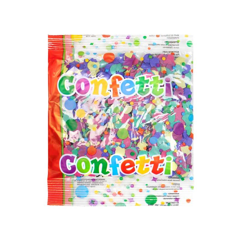 Confete clássico multicolorido (Bag 50 g.)