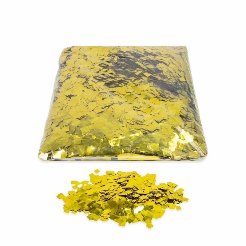 Metallic Squares confetti (1 kg.)