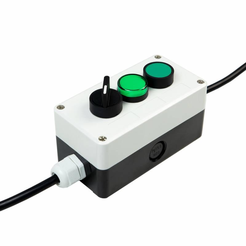 Botão elétrico profissional com chave