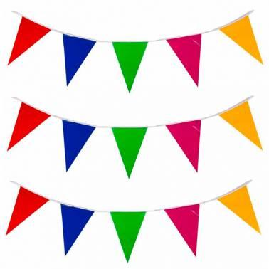 Triangle pennants (50 m.)