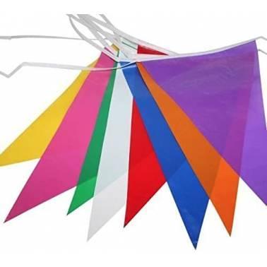 Bandeirolas triângulos (50 m.)