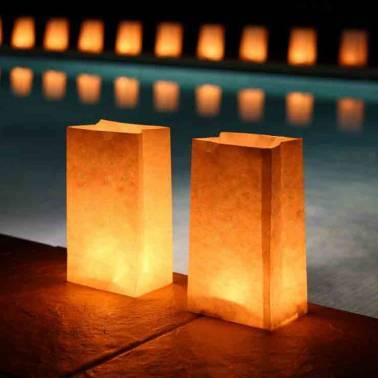 Luminous Candle bags (50 u.)